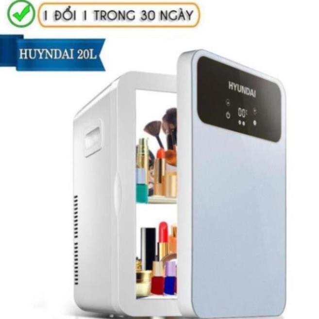 Tủ lạnh mini đựng mỹ phẩm Hyundai 20L [Bảo hành 1 đổi 1]