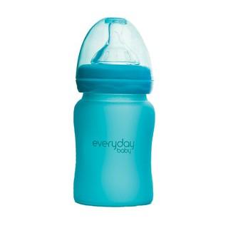 Bình sữa báo nóng Everyday Baby màu xanh lam 150ml
