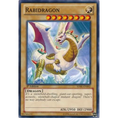 Rabidragon-common-1st eidition- bài yughioh chính hãng