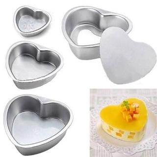 New Springform Pan Chocolate Cake Bake Mould Bakeware Heart Shape Kitchen Accessories Baking Tools @VN