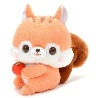 Fusappo Nuts Favorite Food Chipmunk Sóc nâu cầm táo Amuse.
