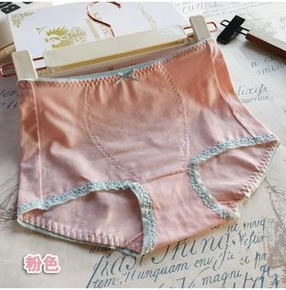 Quần Lót Boxer Cotton 88776 Lưng Cao Màu Trơn Cho Nữ