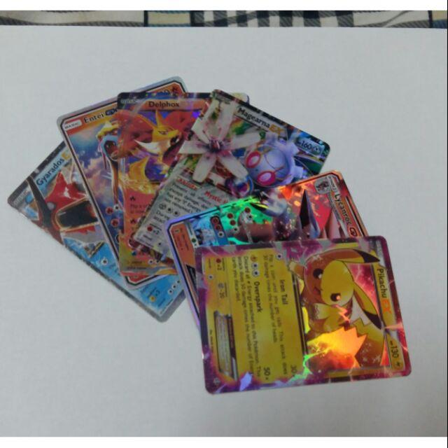 Thẻ Pokemon (combo) (mua 2 combo trở lên tặng 25 thẻ bất kì)