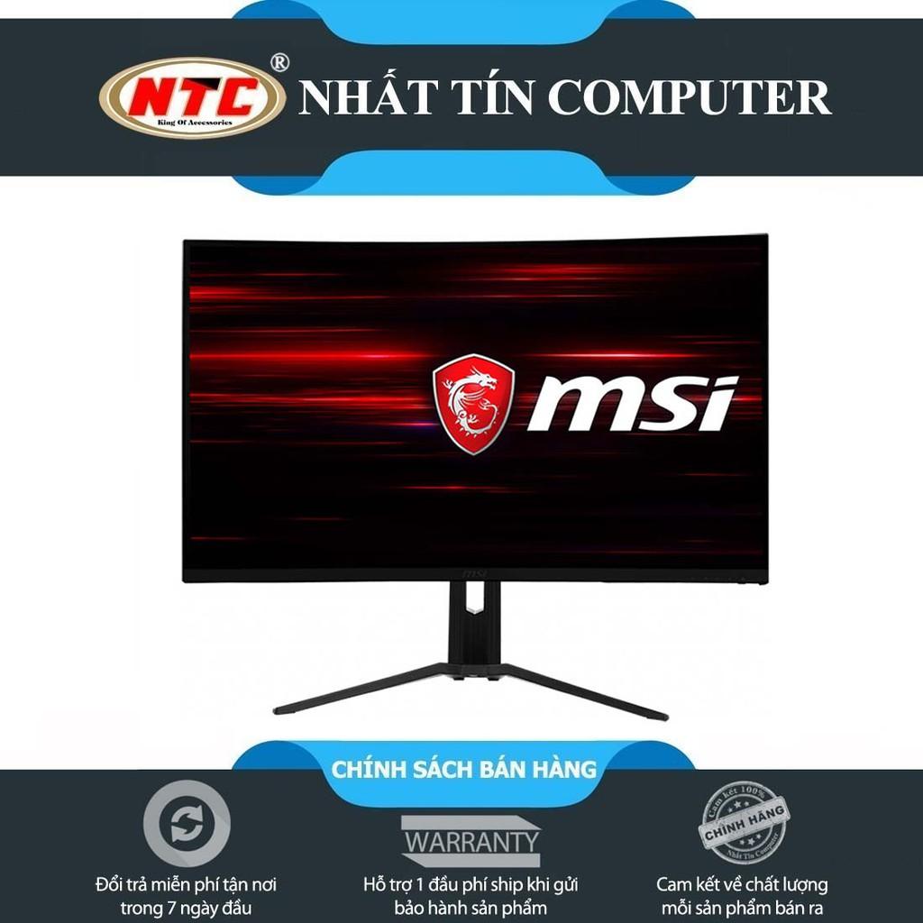 Màn hình máy tính LCD cong tràn viền MSI Optix MAG322CQRV chuẩn 2K 144Hz RGB (Đen)