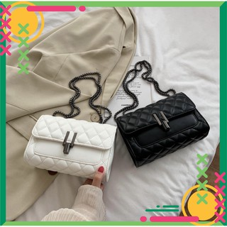 Túi xách nữ đeo chéo khóa chữ Y chất da xịn thời trang nữ tính TX10 túi đeo chéo - TX Quảng Châu