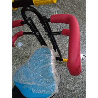 Ghế ngồi em bé xe đạp thể thao có gác chân, xe điện