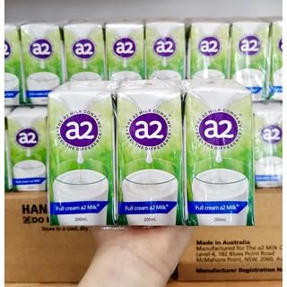Lốc Sữa A2 Nước Úc Hộp 200ml Thùng 24 Hộp Cho Bé Trên 1 Tuổi