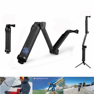 Gậy 3 Khuc Selfie Gopro – 3 Way Monopod Action Camera