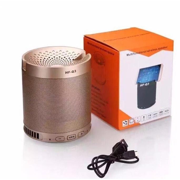 (Loại 1) Loa bluetooth HF Q3 Loại Lớn kiêm giá đỡ điện thoại