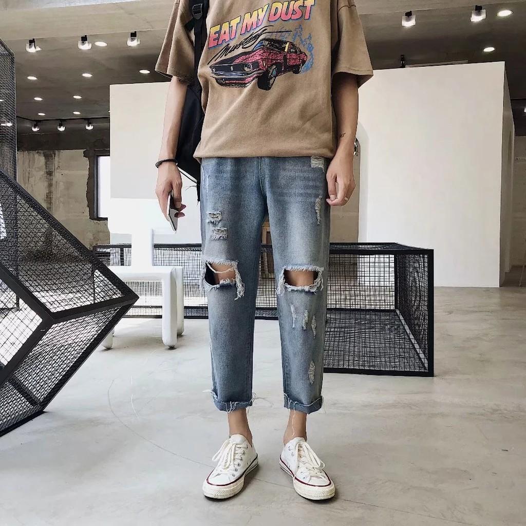 quần jeans dài thời trang dành cho nam