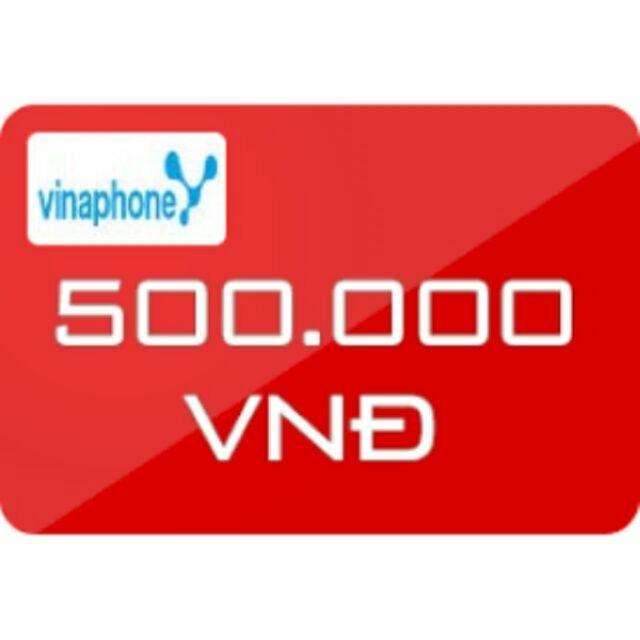 Nạp tiền Vinaphone 500k siêu rẻ