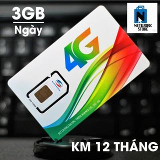 Sim 4G Viettel 3Gb/ngày/5k