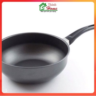 chảo chống dinh, dùng cho cả bếp từ, chảo sâu lòng, kích thước 18cm