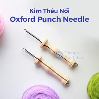 Kim Thêu Nổi Thêu Len Đặc Biệt, Oxford Punch Needle 10 Regular Dùng Len Cỡ Lớn Dành Cho Người Mới Bắt Đầu thumbnail