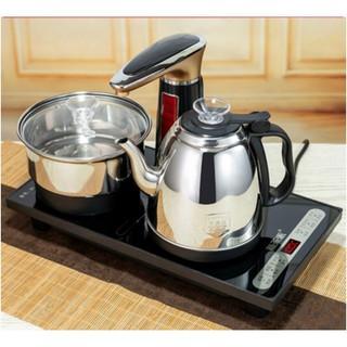Bếp Điện Đun Nước VCR4200 Đen Inox304 Pha Trà Tự Động Xoay hoàn toàn cảm ứng 100%/ bộ bàn bếp điện