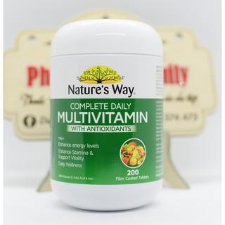Vitamin Tổng Hợp [Úc] Nature's Way Complete Daily Multivitamin – 200 Viên