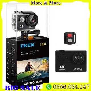 Camera hành trình Eken Ultra HD Wifi quay video 4K tặng đầy đủ bộ phụ kiện sports lắp đặt trên cả ô tô xe máy b thumbnail