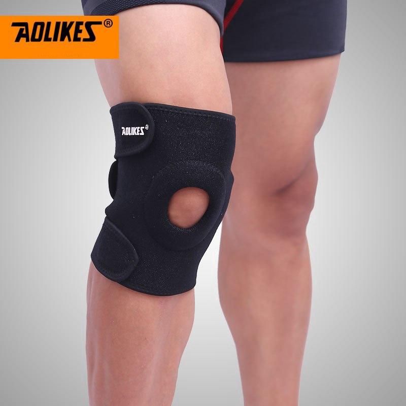 Băng bảo vệ đầu gối chống trượt khi chơi thể thao