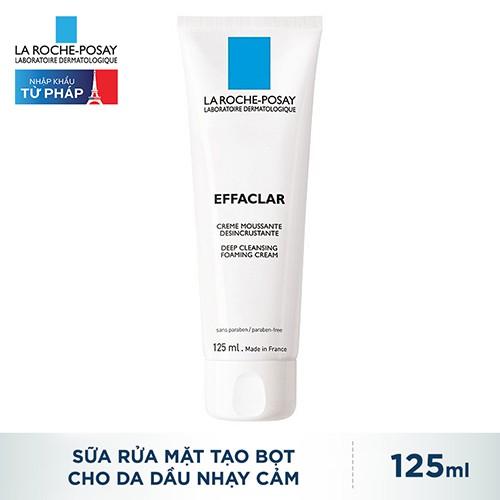 Sữa Rửa Mặt La Roche-Posay Tạo Bọt Cho Da Dầu Nhạy Cảm Effaclar Deep Cleansing Foaming Cream 125ml_3 - 3424042 , 580590324 , 322_580590324 , 325000 , Sua-Rua-Mat-La-Roche-Posay-Tao-Bot-Cho-Da-Dau-Nhay-Cam-Effaclar-Deep-Cleansing-Foaming-Cream-125ml_3-322_580590324 , shopee.vn , Sữa Rửa Mặt La Roche-Posay Tạo Bọt Cho Da Dầu Nhạy Cảm Effaclar Deep Clean