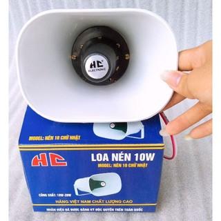 Loa Nén 10w HC hàng chuẩn, chuyên phục vụ bán hàng rong, quảng cáo sản phẩm- Loa thông báo