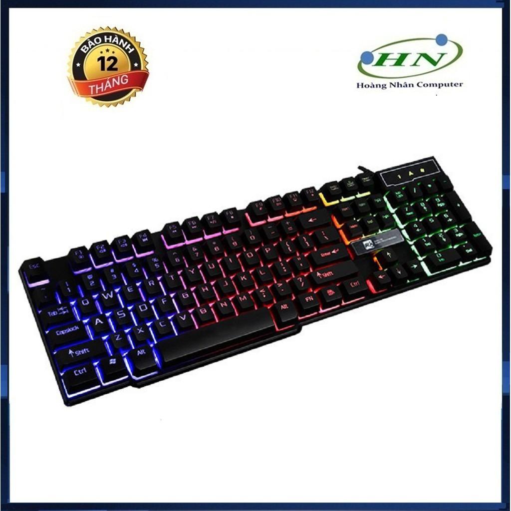 Bàn phím game giả cơ R8 1822 có đèn led 7 màu