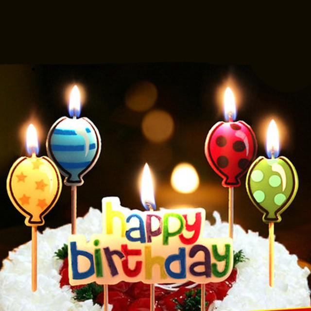 Bộ nến chữ happy birthday , nến sinh nhật, nến để ở trên bánh sinh nhật