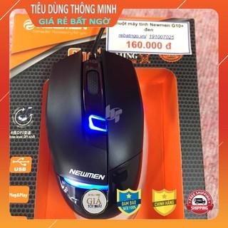 Chuột máy tính Newmen G10+ đen 3200DPI