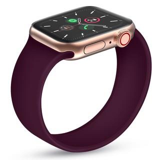 Dây đeo đồng hồ UTELITE silicon không chốt khóa cho đồng hồ Apple Series 6 / 5 / 4 kích thước 38mm/42mm/40mm/44mm