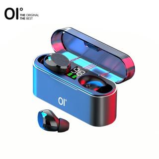 Tai nghe OI Airsounds bluetooth 5.0 1600mAh có màn hình LCD điều khiển cảm ứng chạm âm thanh bass stereo