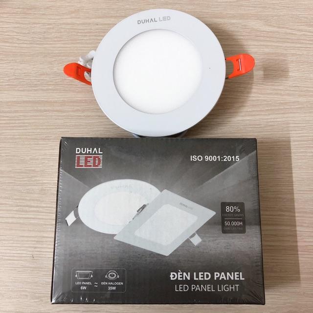 Đèn LED âm trần 6W panel DUHAL