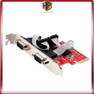 Card PCI Express to 2 Com chính hãng - Unitek Y-7504 thumbnail