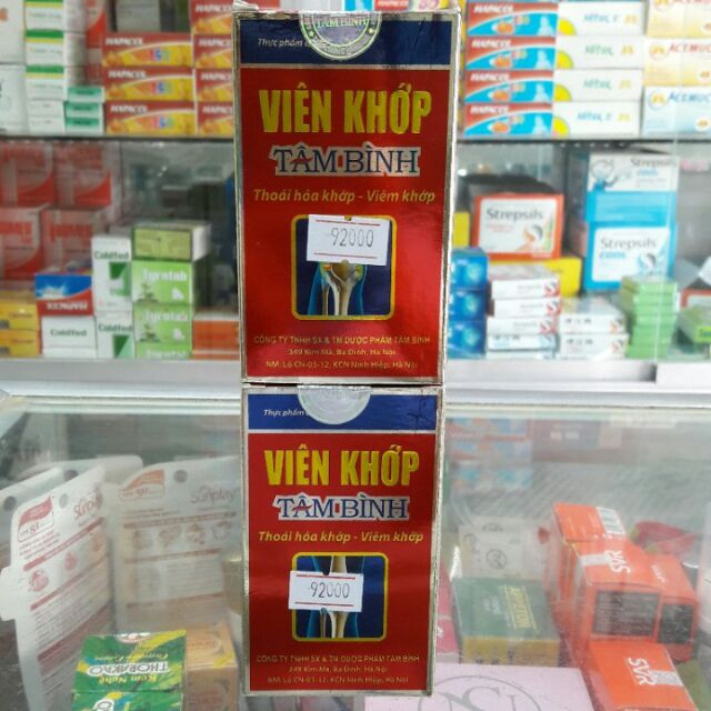 Viên xương khớp Tâm Bình giá tốt - 2591771 , 746552466 , 322_746552466 , 120000 , Vien-xuong-khop-Tam-Binh-gia-tot-322_746552466 , shopee.vn , Viên xương khớp Tâm Bình giá tốt