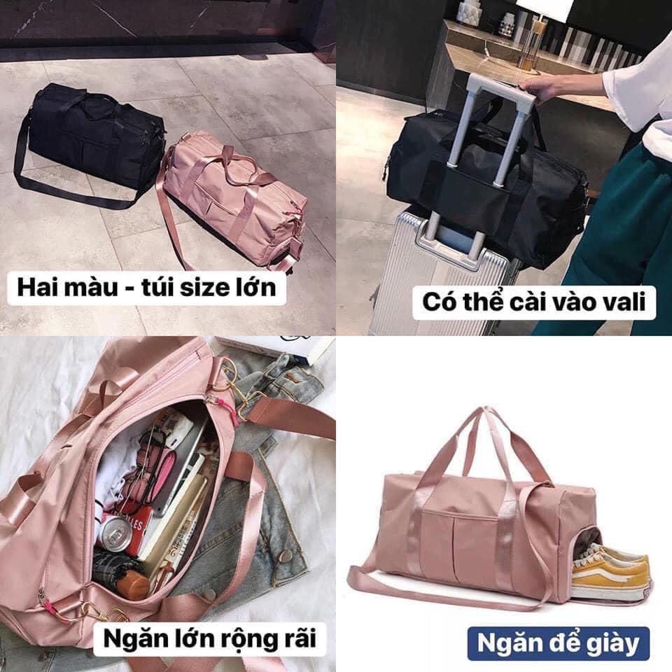 Túi du lịch lớn có ngăn để giày tiện