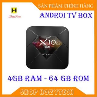 Android TV Box X10 Plus 4GB Ram, 64GB bộ nhớ trong Chất lượng 6K HD