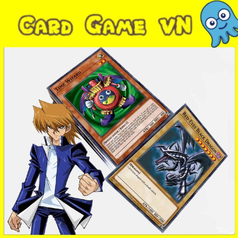 [BÀI IN] Bài YuGiOh – Bộ 45 lá bài – Jonouchi (Joey Wheeler) Deck trong Legendary Deck 2 – Card Game VN