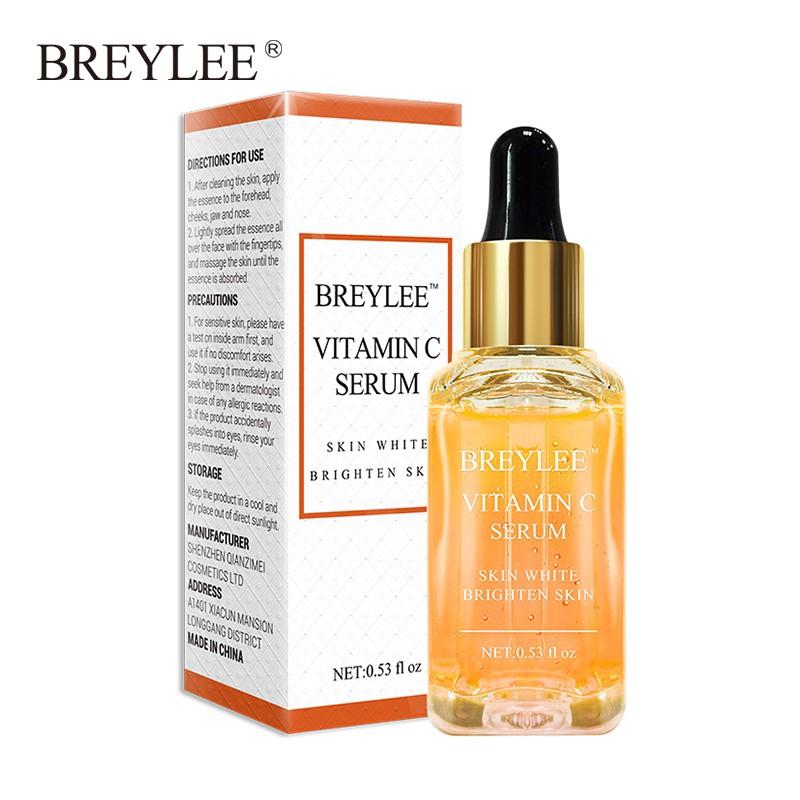 Serum BREYLEE Chứa Vitamin C Hỗ Trợ Dưỡng Trắng Làn Da Hiệu Quả Cao 17ml