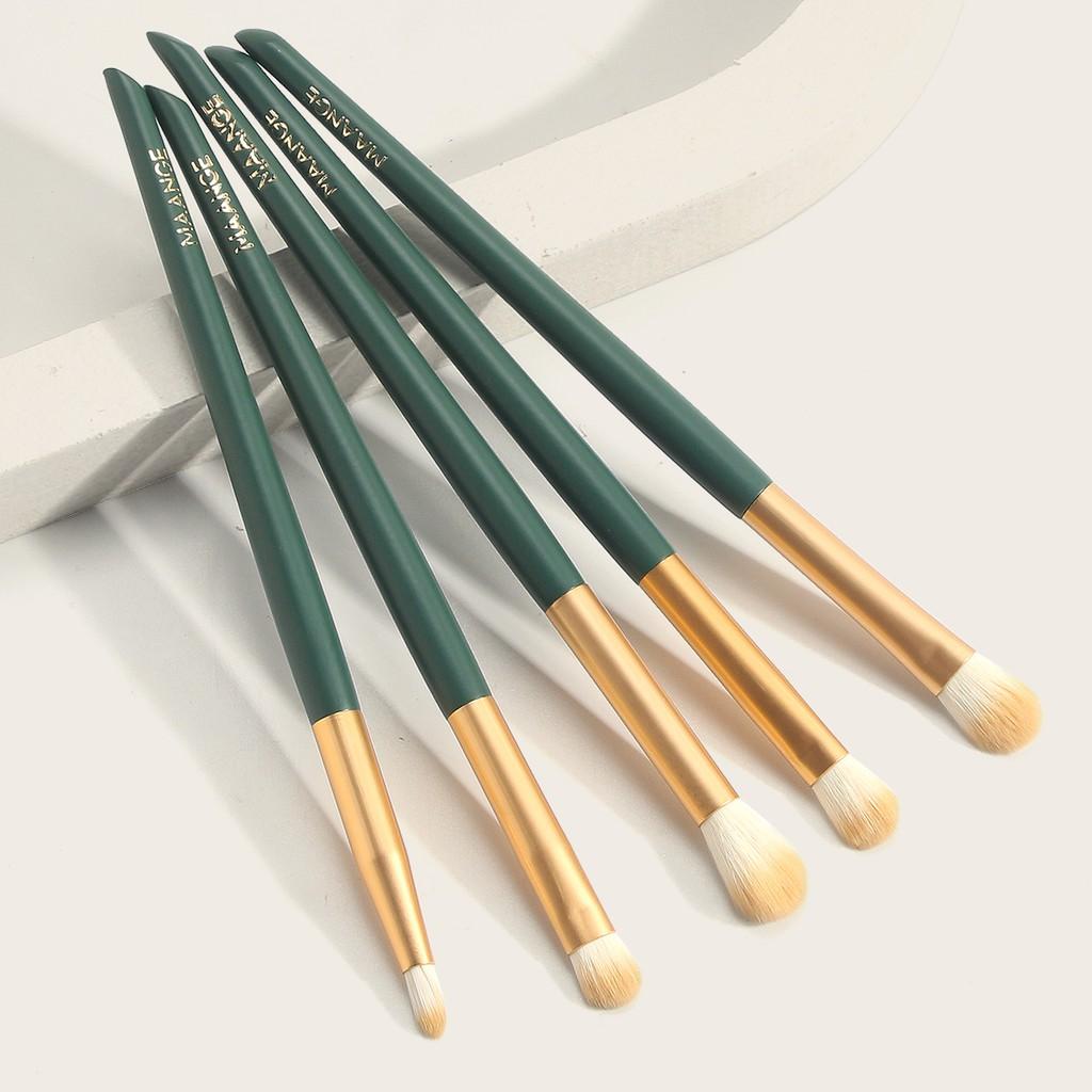 MAGEFY 5 PCS/Set Makeup Brushes Set Cọ trang điểm đánh phấn mắt chất lượng cao,Cọ Trang Điểm Lông Siêu Mềm Thiết Kế Nhỏ Gọn Dùng Đánh Phấn Mắt