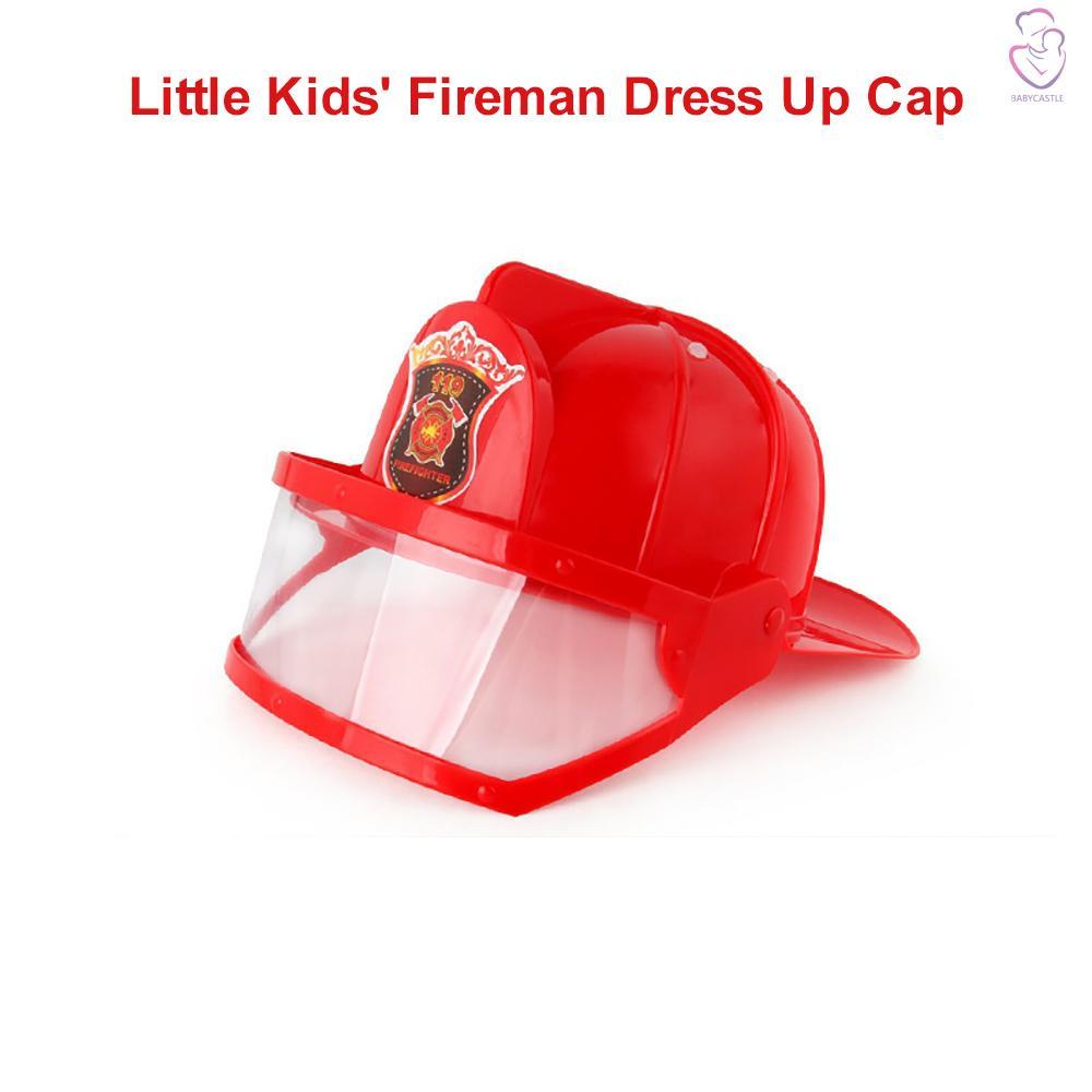 Little Kids' Fireman Costume Fireman Dress Up Cap Pretend Role Play Firefighter Gifts for kids