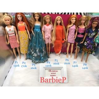 Búp bê Barbie chính hãng . Mã BarbieP