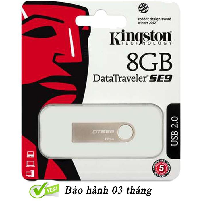 USB Kingston 8Gb 2.0 – Chính hãng Giá chỉ 92.000₫