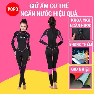 Bộ đồ lặn, quần áo lặn biển cho NỮ SEAC 2.5mm giữ ấm, thoáng khí, chống thầm nước cao cấp SPORTY thumbnail