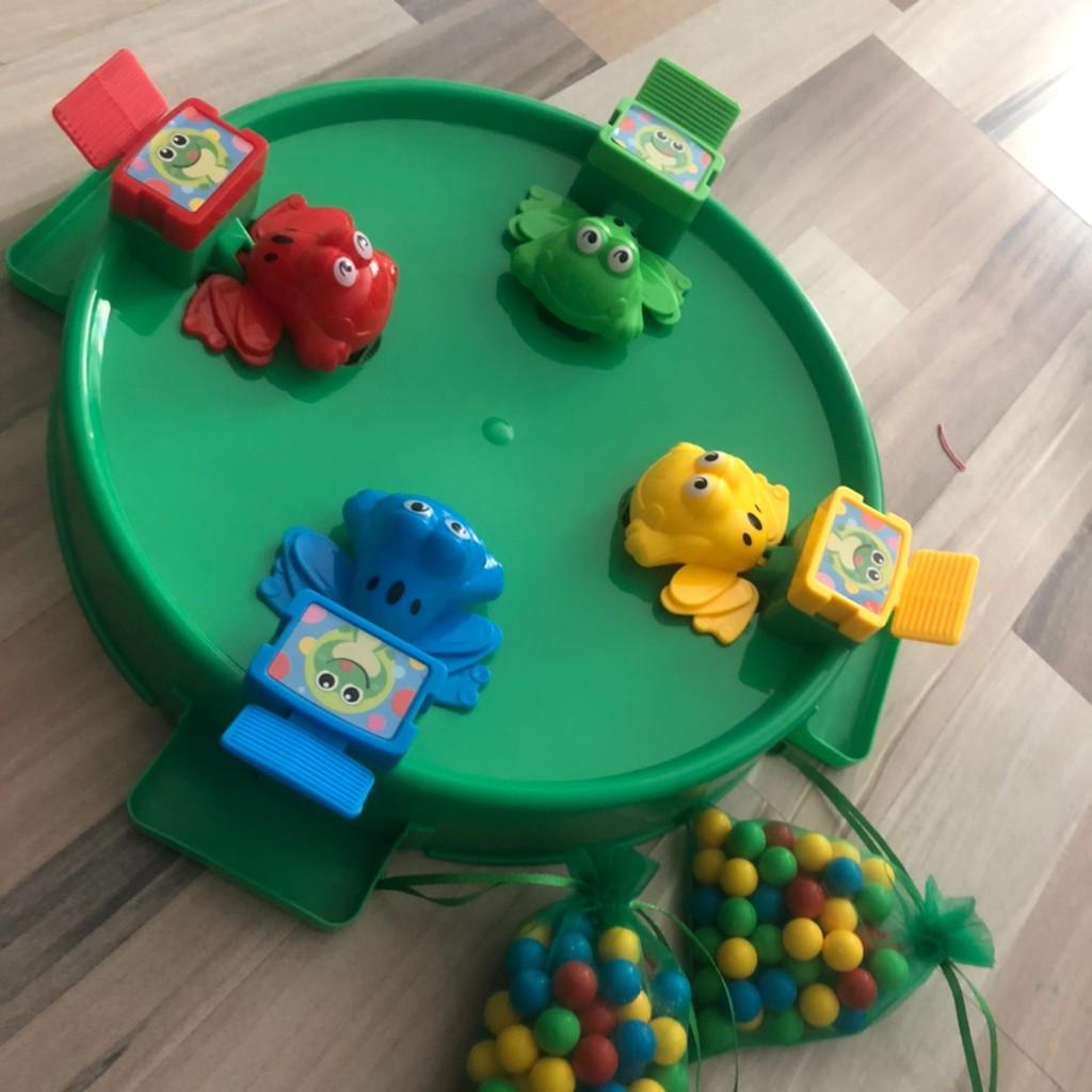 Bộ đồ chơi ếch ăn kẹo cho cả gia đình 4 người chơi - Đồ chơi trẻ em 3 4 5 6  tuổi chính hãng 160,000đ