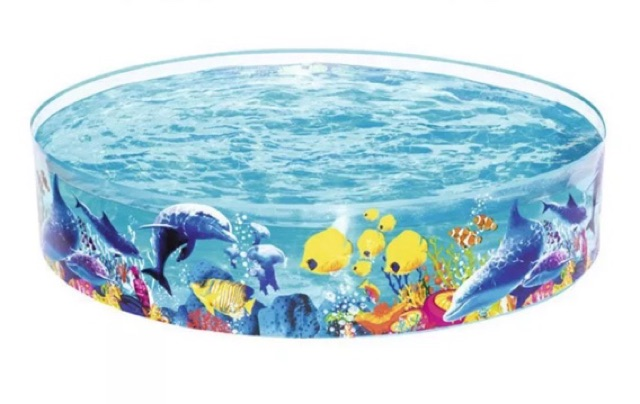 Bể bơi gia đình bằng nhựa cứng lớn nhất dành cho trẻ em Bestway