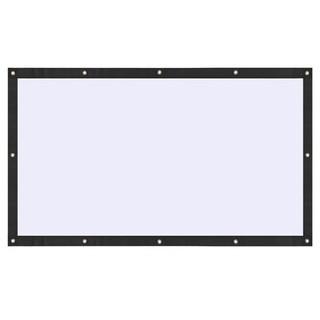 Màn Hình Máy Chiếu Màu Trắng + Đen 72 Inch