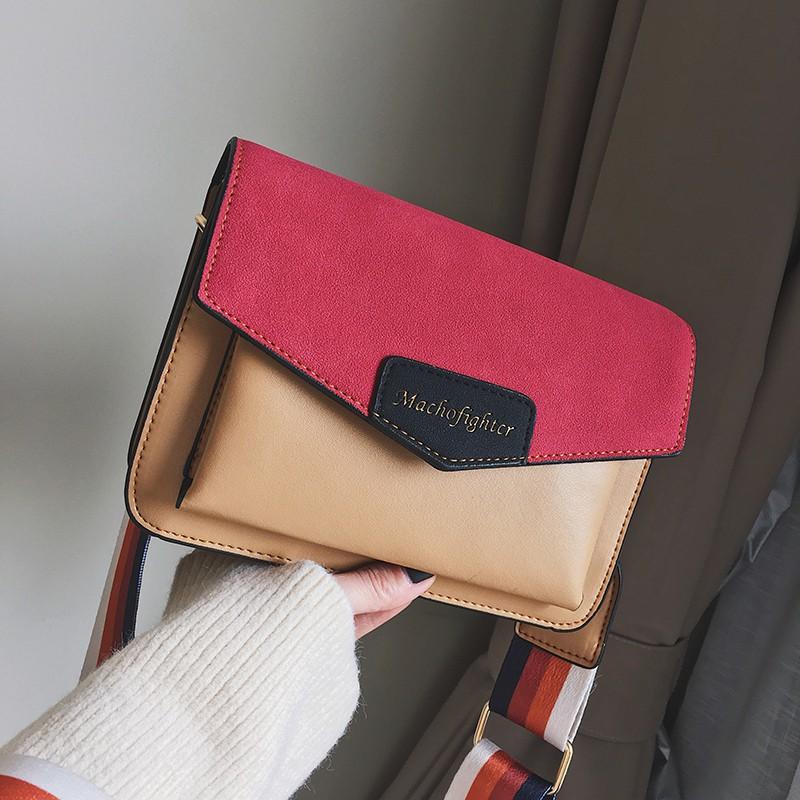 Túi xách phong thư phối màu siêu xinh - A74