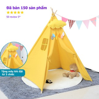 VBL2021 – Combo Lều vải handmade cao cấp lều cho bé ảnh shop tự chụp