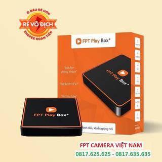 Đầu thu kỹ thuật số FPT Play Box+ 2020 – Tivi Box – HĐH AndroidTV 10 – Tặng chuột không dây