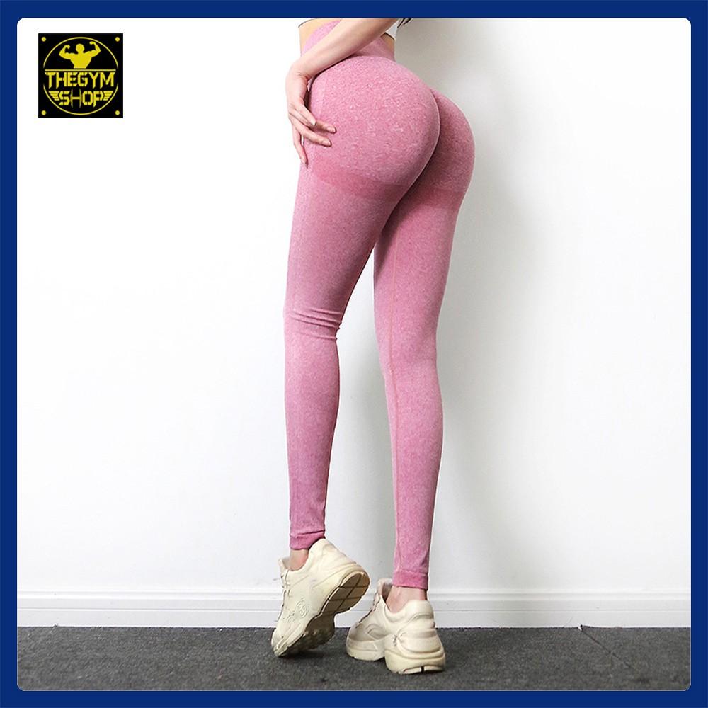 Quần tập legging cạp cao siêu nâng mông có viền tập gym, yoga cao cấp
