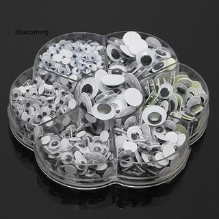 Bộ 500 con mắt lắc làm búp bê hình tròn 7 cỡ DIY thumbnail