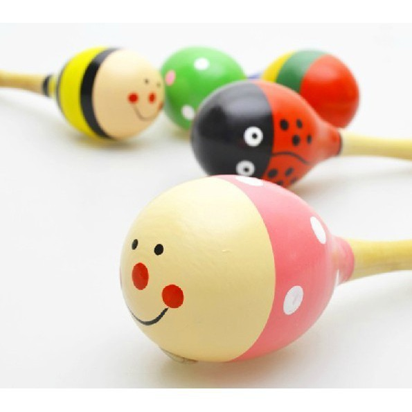 Xúc xắc gỗ đầu tròn cho trẻ em(SL1) | TẠI BA ĐÌNH